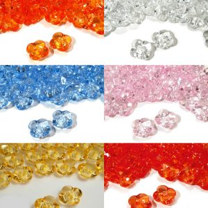 1024 Knoepfe Kinder Krystalloptik Blume Uebersicht Alle Farbe