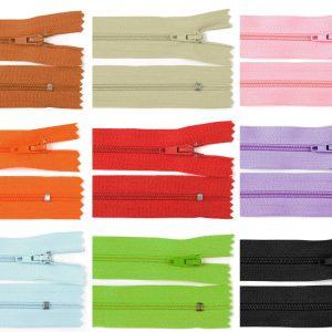 1049 Reissverschluss 50cm 3mm Uebersicht Farben