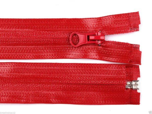 1221 Reissverschluss Wasserdicht Farbe Rot Detailansicht