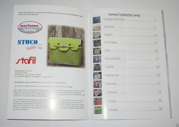 Buch Fashion Bag 04 Inhaltsverzeichnis