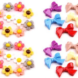 Kunststoff Motivteile Blumen Schleifen Uebersicht Alle Varianten