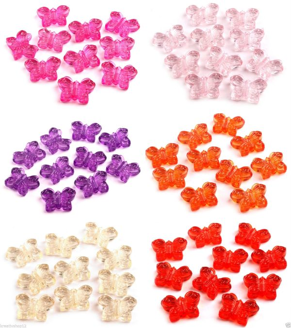 Kunststoff Schmetterlinge Uebersicht Alle Farben