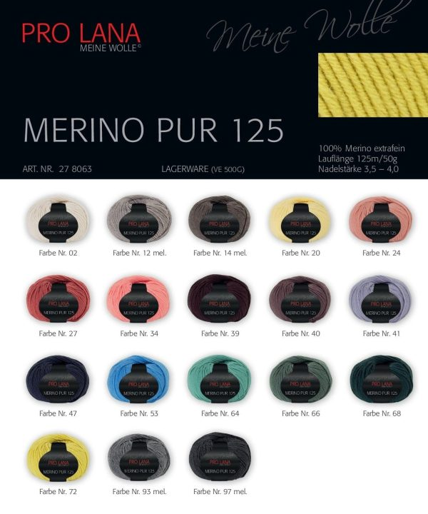 1271 Pro Lana Merino Pur Uebersicht Farben