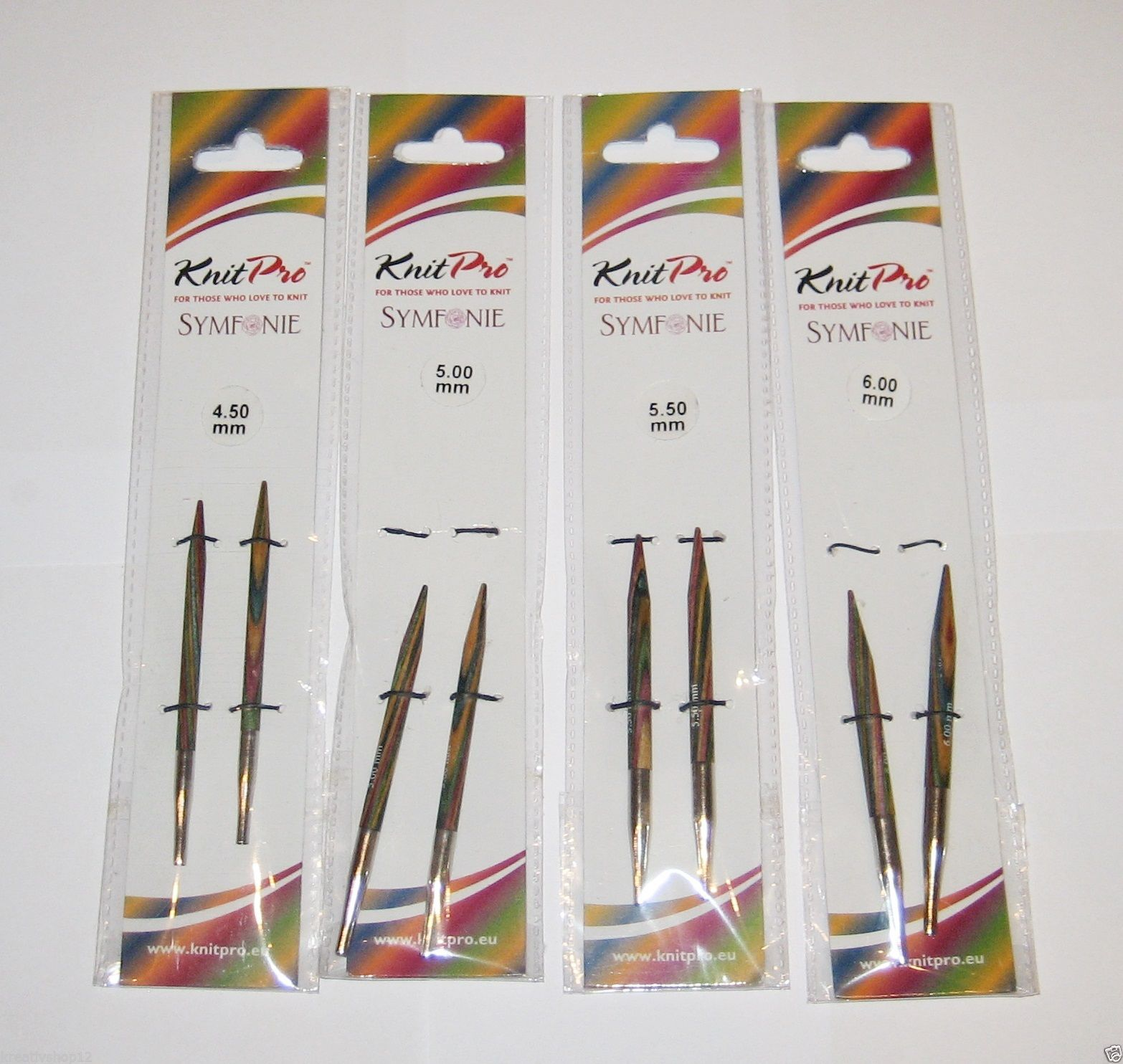 Zing Nadelspitzen ;kurze Länge ~ 95 mm 6,0 mm Knit pro Stärke von 3,0 mm