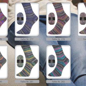 1393 Pro Lana Pro Socks JeansUebersicht Farben Varianten
