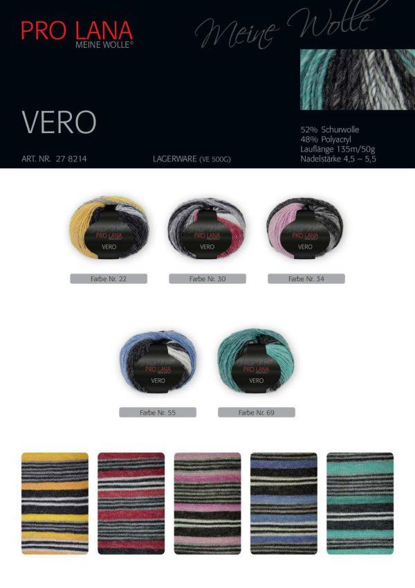 1411 Pro Lana VERO Uebersicht Farben