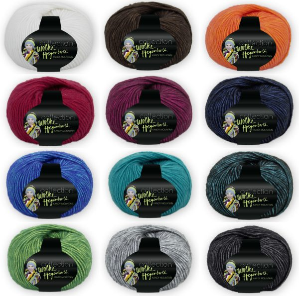 1416 HEGENBARTH Kandy Mountain Uebersicht Wollfarben