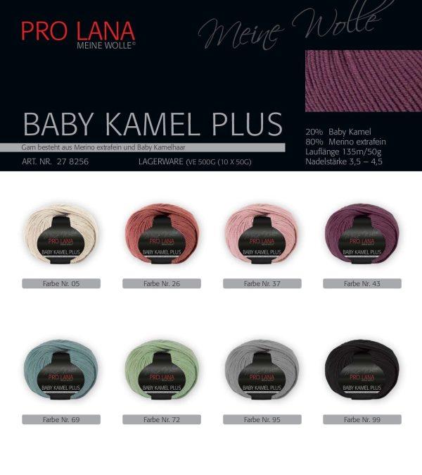 1454 Pro Lana Baby Kamel Plus Uebersicht Farben