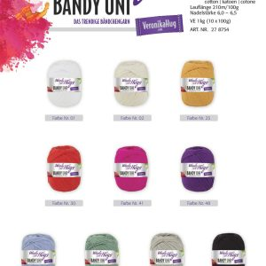 1457 Wolly Hugs Bandy UNI Uebersicht Farben