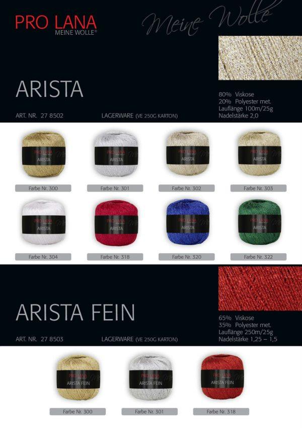 1458 Pro Lana Arista Fein Uebersicht Farben Varianten