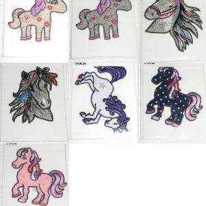 1468 Applikation Einhorn Pony Uebersicht Alle Varianten