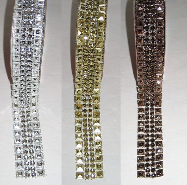 1473 Nietenborte 25mm Uebersicht Farben Silber Gold Kupfer