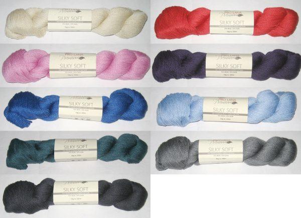 1488 Pro Lana Silky Soft Uebersicht Wollfarben