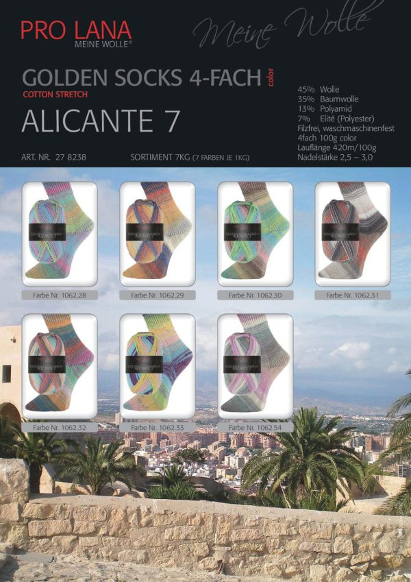 1491 Pro Lana ALICANTE 7 Uebersicht Plakat Farben