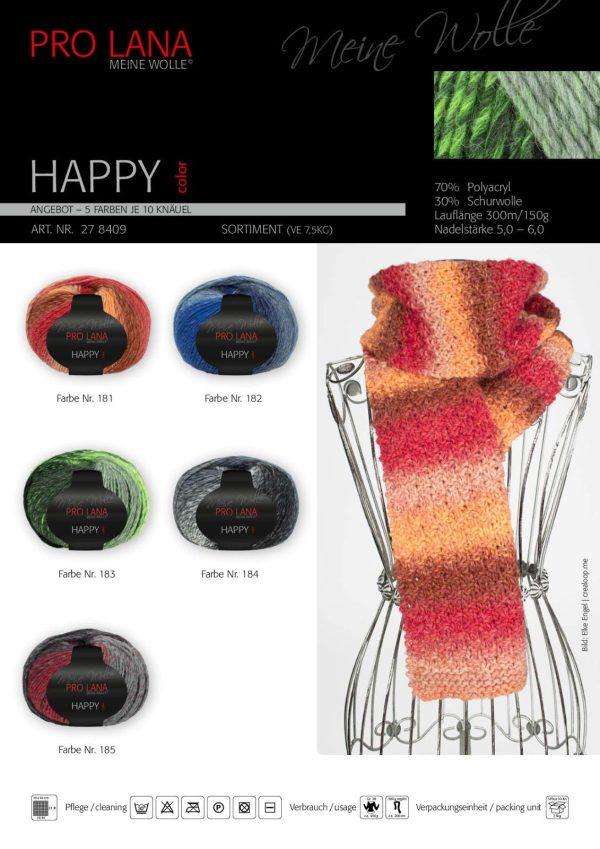 1495 Pro Lana Happy Uebersicht Farben Muster