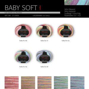 1498 Pro Lana Baby Soft Color Uebersicht Wollen